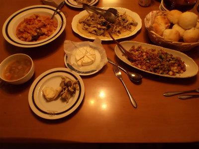 12.2イタリアンな夕食