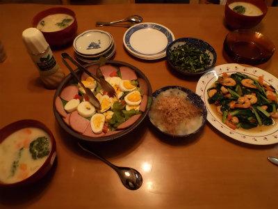 12.7夕食