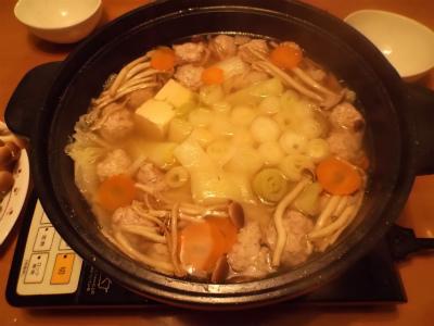 12.12太ネギの鍋