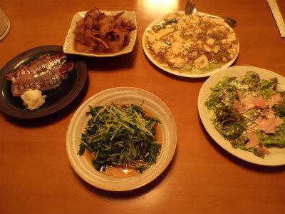 12.13夕食