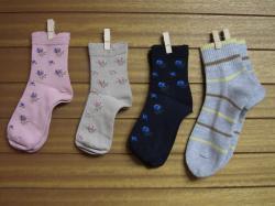 春ちゃんママからの靴下