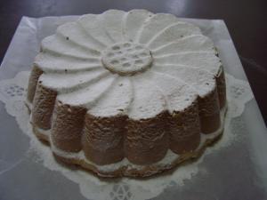 マルグリット型のケーキ