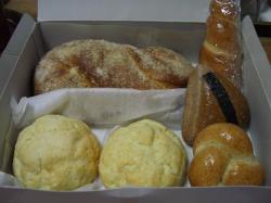 カブカ、コルネ、お米パン、ツオップ、メロンパン