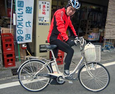 9-ク妹の自転車