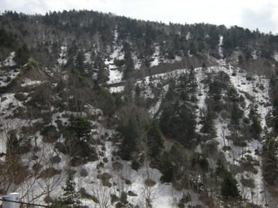 1-3かなり雪ある