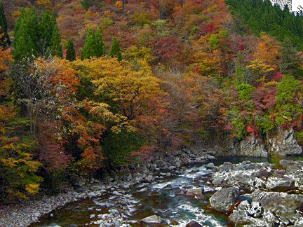 1-3カオレ渓谷の紅葉