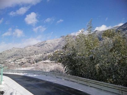 1-3会社からの雪景色
