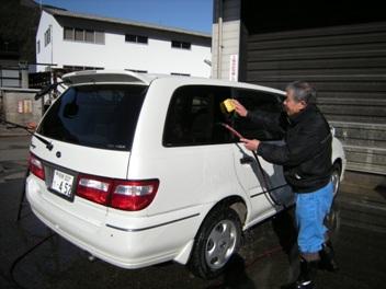 1-4Iマイさん洗車