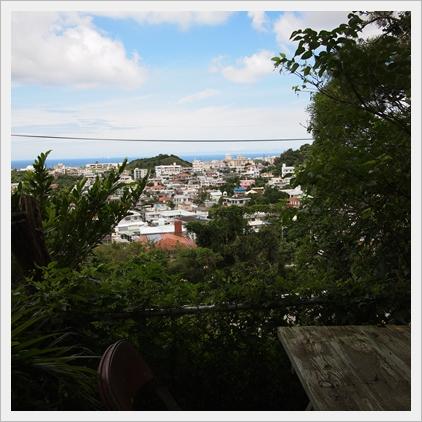 高台からの眺めさいこー