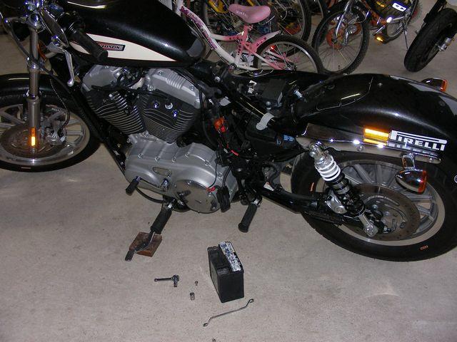 バッテリー交換20110109