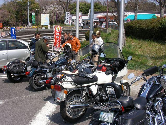 安濃SAにて20110410