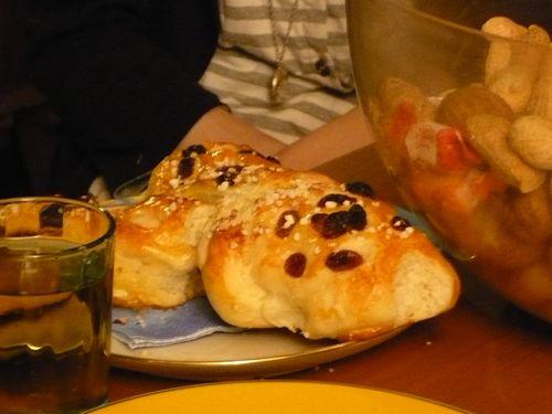 サンタの日 人型パン