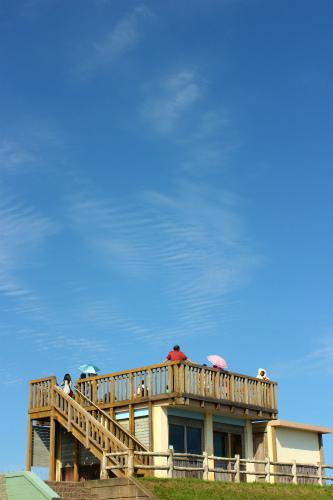 琵琶瀬の展望台