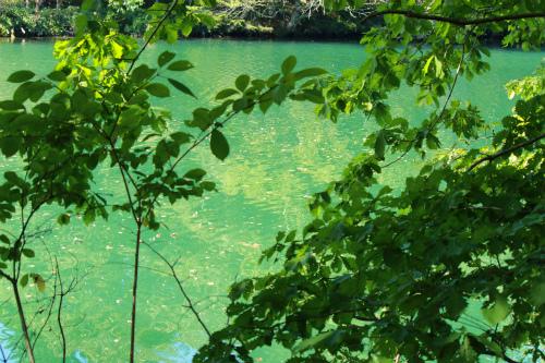トムラウシダム湖