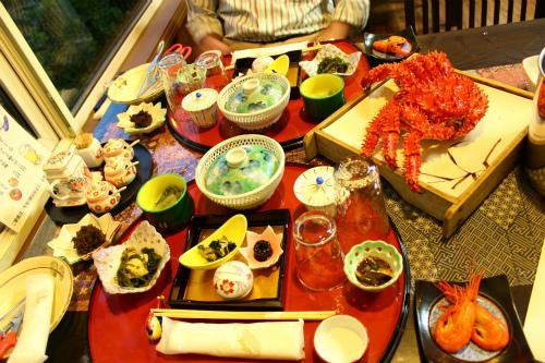 エクハシの宿夕食