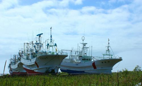 カニ漁船!?
