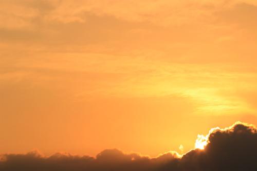 十勝牧場夕陽