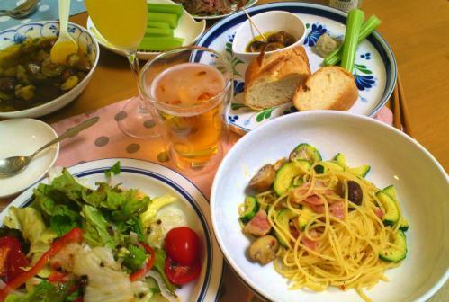 ハマ家の夕食