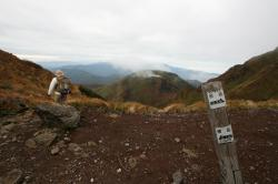 男岳.横岳.稜線