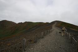 大焼砂稜線