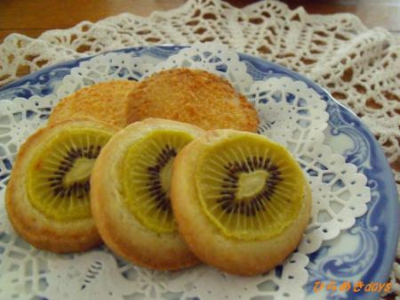 キウイフルーツクッキー
