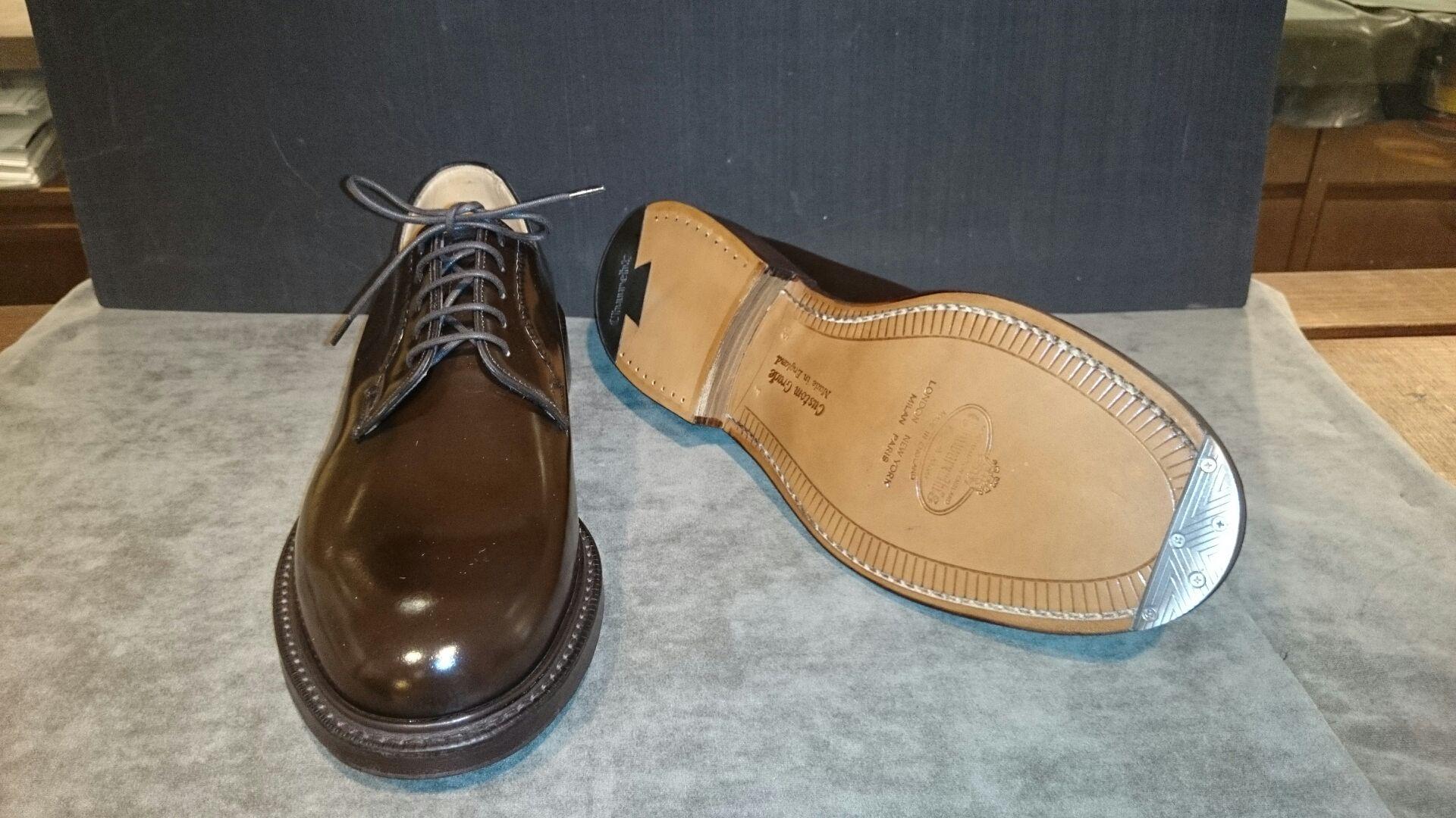 【ヴィンテージスチール修理】¥4,200~ つま先の減り防止の為、新品時に取付けすることが一般的ですが、多少履きこんでいても取り付けることは可能です。しかし靴の