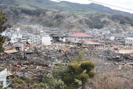 高台に家があったので津波も火災のぎりぎりのところで避けられた