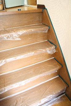 玄関の階段
