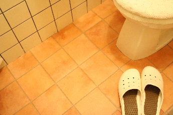 トイレDIY 床