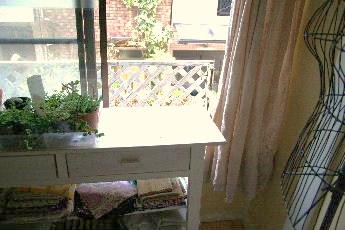 2階の窓辺