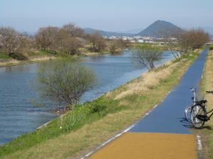 コース葉山川河口