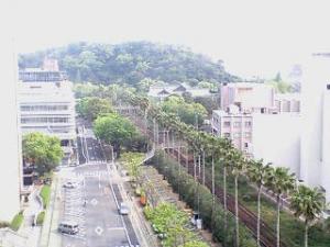 千秋閣から中央公園