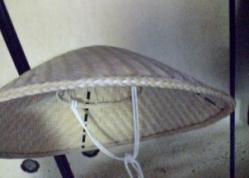 托鉢編み笠