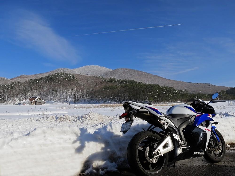 雪の臥龍山
