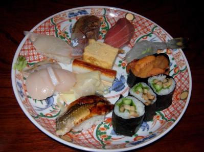 寿司盛り皿