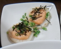 長芋の明太マヨ焼き