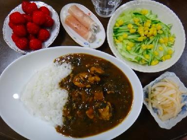 夕飯0612