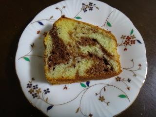 マーブルケーキ0626
