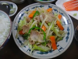 野菜炒め0627