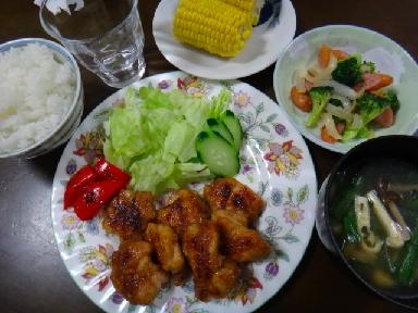 夕飯0706
