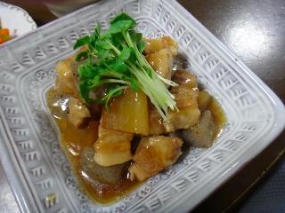 豚バラと大根の煮物0809