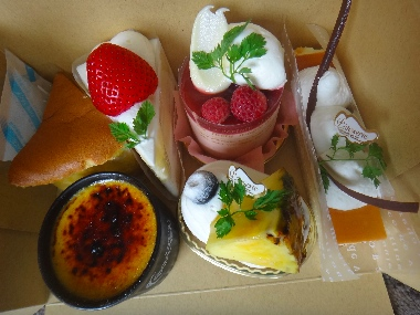 コラソンケーキ