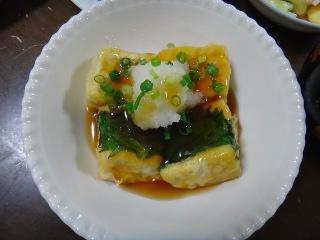 揚げ出し豆腐0916