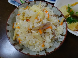 炊き込みご飯0916