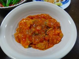 チキンのトマト煮1009