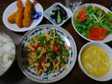 夕飯1003