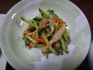 たこの中華風サラダ