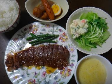 夕飯1005
