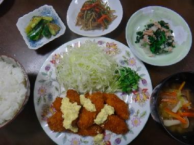 夕飯1012