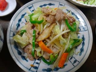 野菜炒め1028